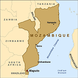 map-mozambique